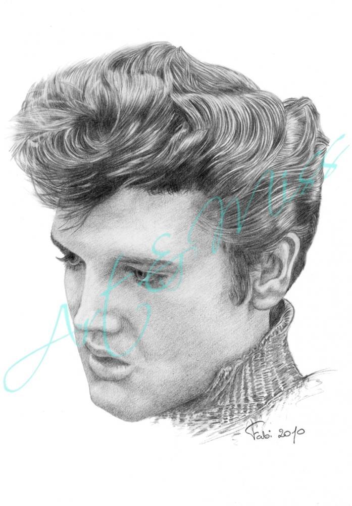 Elvis Presley by Fajojelu